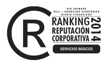 Lipigas Líder en Ranking de Reputación 2014