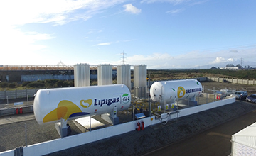 Lipigas inaugura red de gas natural en Osorno