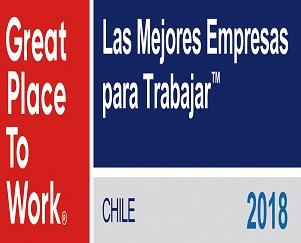 Lipigas entre las 10 Mejores Empresas para Trabajar en Chile