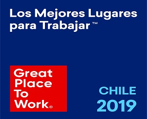 6° Lugar Great Place to Work 2019